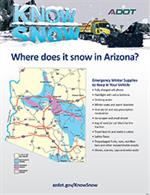 Flyer: Where does it snow in Arizona?