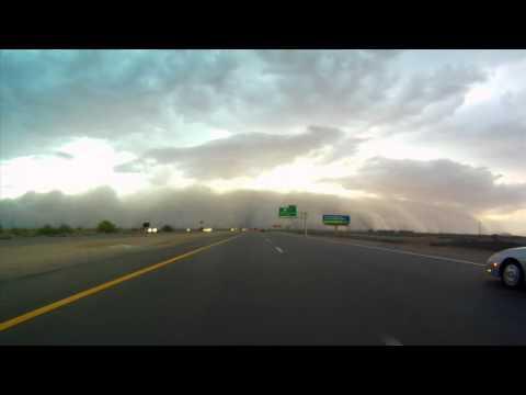 sky over roadway